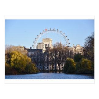 Cartão Postal Eu amo Londres!
