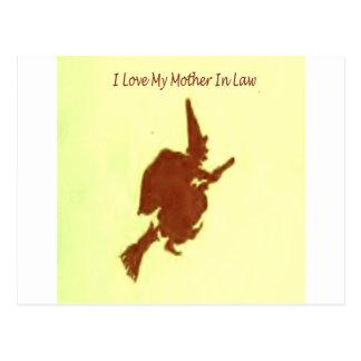 Cartão Postal Eu amo minha sogra