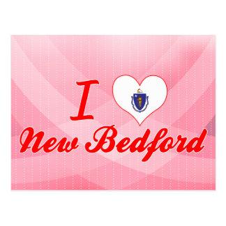 Cartão Postal Eu amo New Bedford, Massachusetts