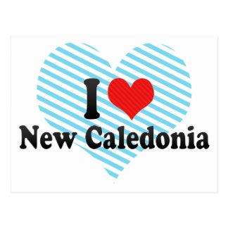 Cartão Postal Eu amo Nova Caledônia