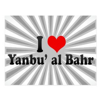 Cartão Postal Eu amo o al Bahr de Yanbu, Arábia Saudita