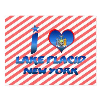 Cartão Postal Eu amo o Lake Placid, New York