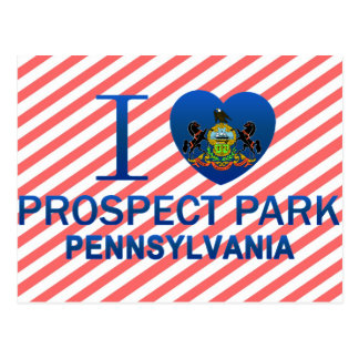 Cartão Postal Eu amo o parque da perspectiva, PA