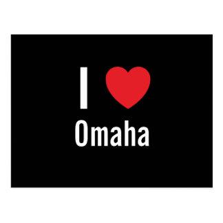 Cartão Postal Eu amo Omaha