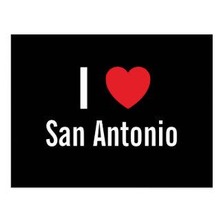 Cartão Postal Eu amo San Antonio
