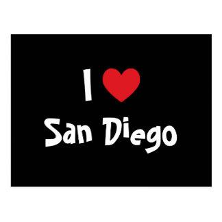 Cartão Postal Eu amo San Diego