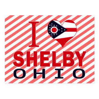 Cartão Postal Eu amo Shelby, Ohio