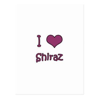 Cartão Postal Eu amo Shiraz