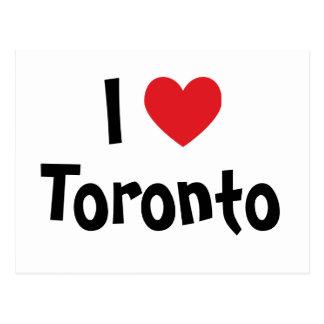 Cartão Postal Eu amo Toronto
