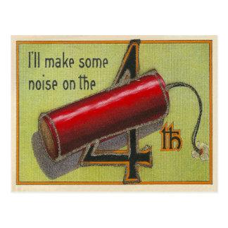 Cartão Postal Eu farei algum ruído