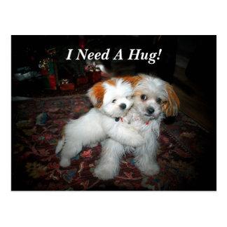 Cartão Postal Eu preciso um abraço!