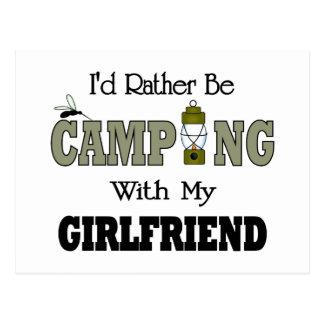 Cartão Postal Eu preferencialmente estaria acampando com meu