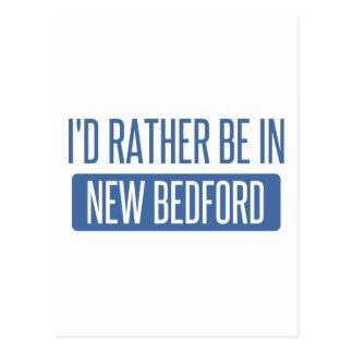 Cartão Postal Eu preferencialmente estaria em New Bedford