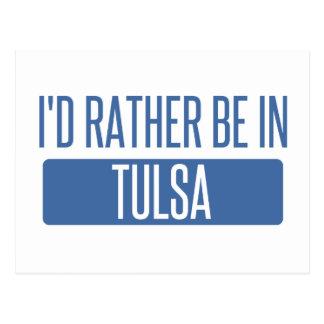 Cartão Postal Eu preferencialmente estaria em Tulsa
