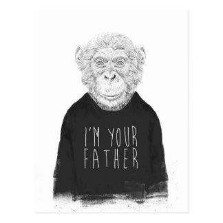 Cartão Postal Eu sou seu pai
