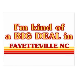 Cartão Postal Eu sou tipo de uma GRANDE COISA em Fayetteville