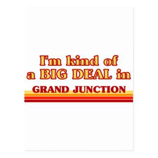 Cartão Postal Eu sou tipo de uma GRANDE COISA em Grand Junction