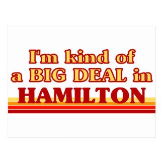 Cartão Postal Eu sou tipo de uma GRANDE COISA em Hamilton