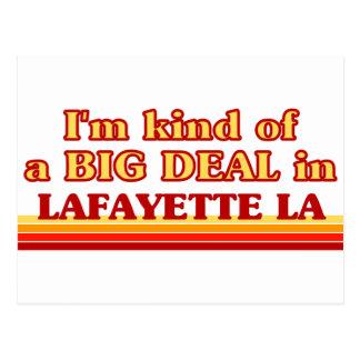 Cartão Postal Eu sou tipo de uma GRANDE COISA em Lafayette
