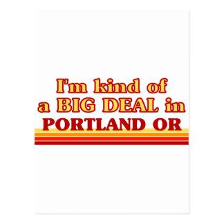 Cartão Postal Eu sou tipo de uma GRANDE COISA em Portland