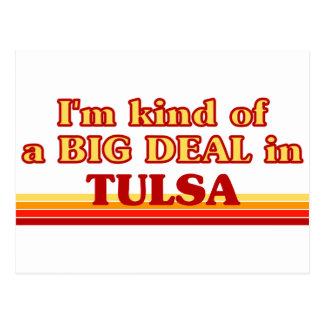 Cartão Postal Eu sou tipo de uma GRANDE COISA em Tulsa