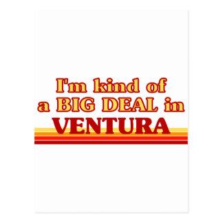 Cartão Postal Eu sou tipo de uma GRANDE COISA em Ventura