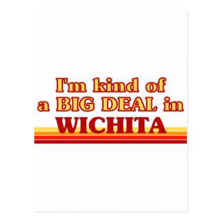 Cartão Postal Eu sou tipo de uma GRANDE COISA em Wichita