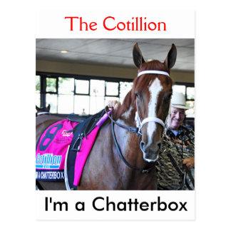 Cartão Postal Eu sou um Chatterbox