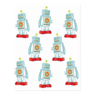 Cartão Postal Eu sou um exército do robô