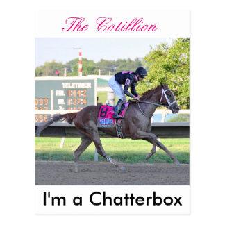 Cartão Postal Eu sou vitórias de um Chatterbox o Cotillion