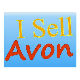 Cartão Postal Eu vendo Avon