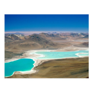 Cartão Postal Eu visitei Laguna Verde em Bolívia!