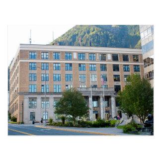 Cartão Postal EUA - Alasca - Juneau - State Capital Edifício
