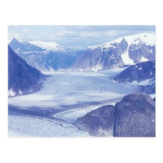 Cartão Postal EUA, Alaska, Wrangell-Rua Elias NP, Leconte
