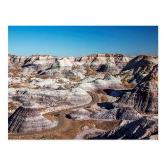 Cartão Postal EUA, arizona, parque nacional de floresta