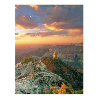 Cartão Postal EUA, arizona, parque nacional do Grand Canyon.