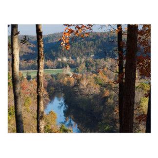 Cartão Postal EUA, Arkansas, guerra Eagle, parque estadual de