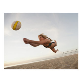 Cartão Postal EUA, Califórnia, Los Angeles, jogo da mulher