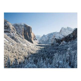 Cartão Postal EUA, Califórnia, parque nacional 2 de Yosemite