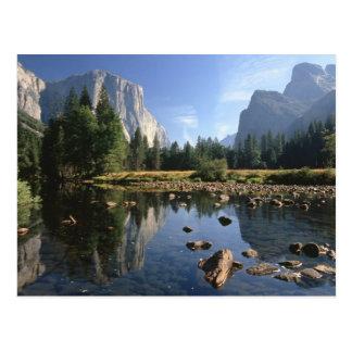Cartão Postal EUA, Califórnia, parque nacional de Yosemite, 5