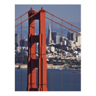 Cartão Postal EUA, Califórnia, San Francisco. Vista aérea de