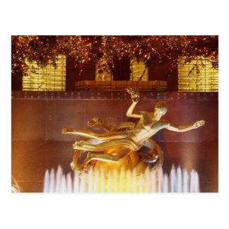 Cartão Postal EUA, New York, Nova Iorque, estátua de