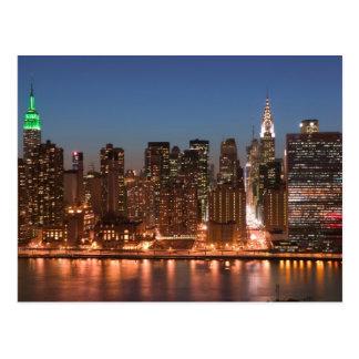 Cartão Postal EUA, New York, Nova Iorque, Manhattan: Aéreo