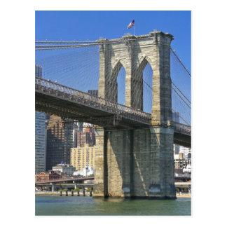 Cartão Postal EUA, New York, Nova Iorque. Ponte de Brooklyn
