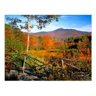 Cartão Postal EUA, Nova Inglaterra, New Hampshire, Chocorua