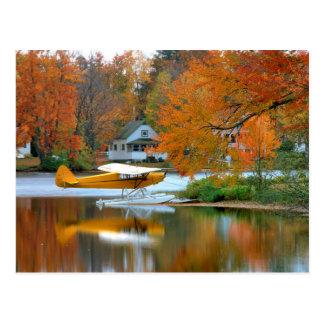 Cartão Postal EUA, Nova Inglaterra, New Hampshire. Plano do