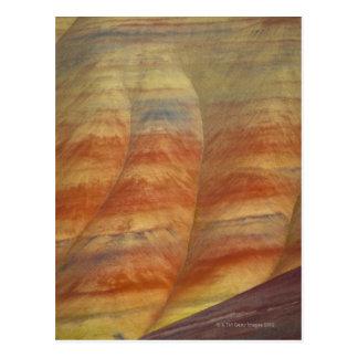 Cartão Postal EUA, Oregon, Mitchell, colinas pintadas, Fim-acima