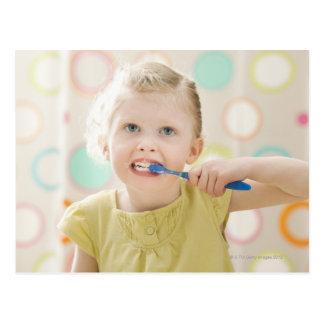 Cartão Postal EUA, Utá, Lehi, 2-3) dentes de escovadela da