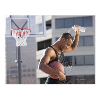 Cartão Postal EUA, Utá, Salt Lake City, jogador de basquetebol