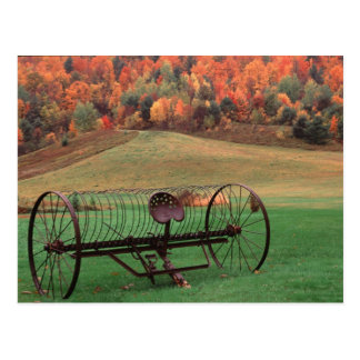 Cartão Postal EUA, Vermont, exploração agrícola